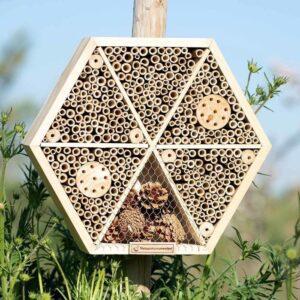 Insectenhotel Suraj in de natuur