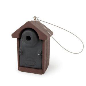 Mezen nestkast 28mm bruin-zwart rechts