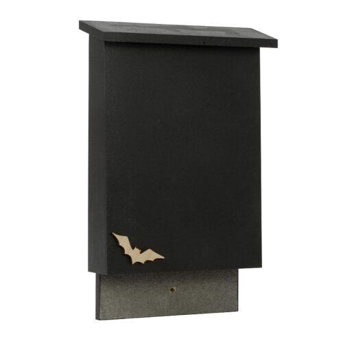 Vleermuizen vleermuizenkast zwart vooraanzicht