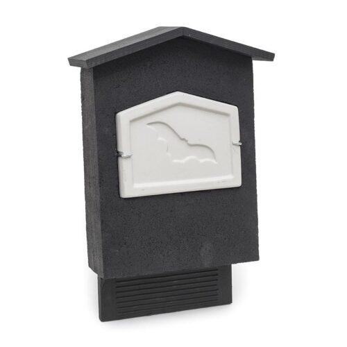 Vleermuizen vleermuizenkast zwart grijs