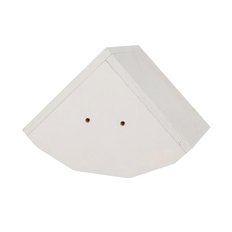 Zwaluwen huiszwaluw witte dak ladesysteem achterzijde